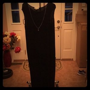 Liquid Nit Black Dress